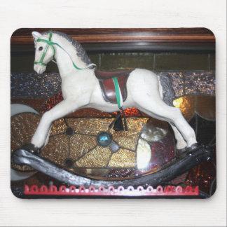Vintage Rocking Horse Mousepad
