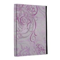 Vintage Rococo Pink Ipad Folio Case