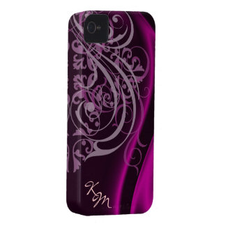 Vintage Rococo Pink Silk Barely There Case