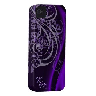 Vintage Rococo Purple Silk Barely There Case