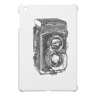 Vintage Rolleiflex Camera iPad Mini Case
