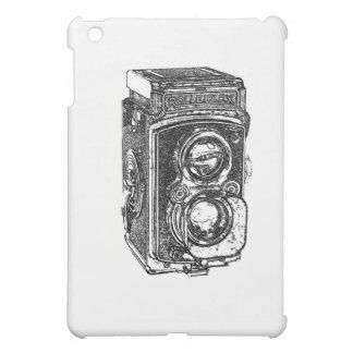 Vintage Rolleiflex Camera iPad Mini Covers
