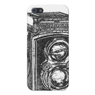 Vintage Rolleiflex Camera iPhone 5 Cover