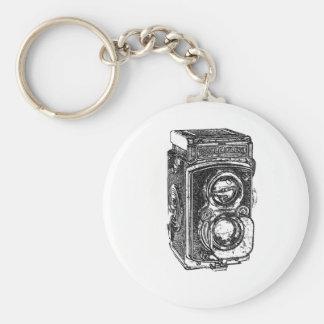 Vintage Rolleiflex Camera Keychain