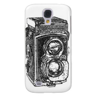 Vintage Rolleiflex Camera Samsung Galaxy S4 Cover
