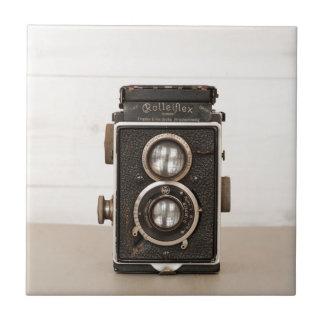 Vintage Rolleiflex Twin lens camera Ceramic Tile