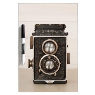 Vintage Rolleiflex Twin lens camera Dry-Erase Board