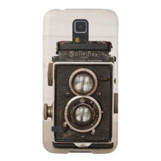 Vintage Rolleiflex Twin Lens camera Galaxy S5 Case