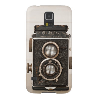 Vintage Rolleiflex Twin Lens camera Galaxy S5 Case