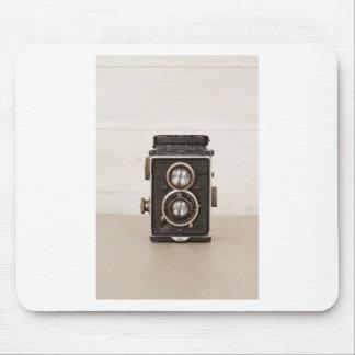 Vintage Rolleiflex Twin lens camera Mouse Mats
