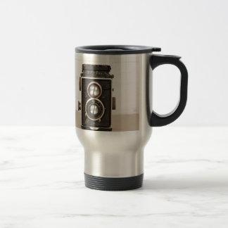 Vintage Rolleiflex Twin lens camera Travel Mug