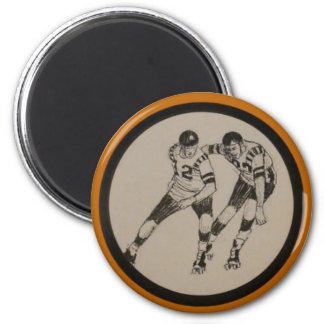 Vintage Roller Derby Magnet