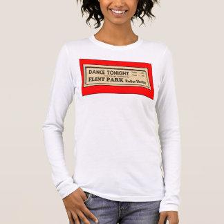 Vintage Roller Skating Ad Long Sleeve T-Shirt
