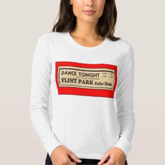 Vintage Roller Skating Ad T-shirt