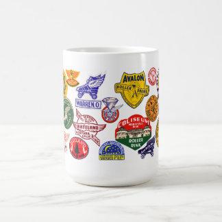 Vintage Roller skating rinks Coffee Mug