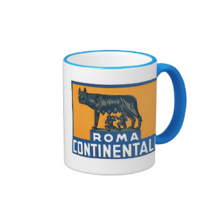 Vintage Roma Continentale Ringer Mug