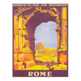 Vintage Roma expresa Tarjetas Postales