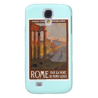Vintage Roma Italia Funda Para Galaxy S4