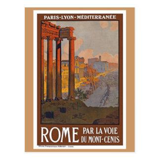 Vintage Roma Italia Tarjeta Postal
