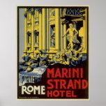 Vintage Roma Poster