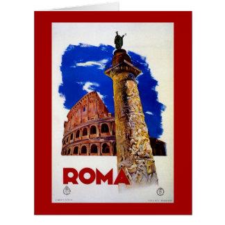 Vintage Roma Rome Italian travel Greeting Cards