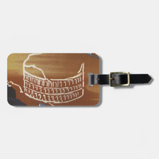Vintage Roman Colosseum Rome Luggage Tags