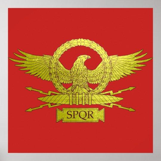 Vintage Roman Legion Insignia Poster | Zazzle.com