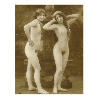 Vintage Romance (2) Postcard