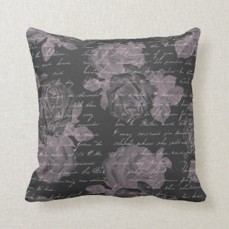 Vintage Romance: Classic Roses and Writing Pillow