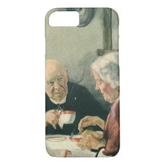 Vintage Romance, Grandparents in Love iPhone 8/7 Case