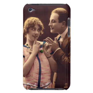 """Vintage Romance iPod """"Barely There"""" Case iPod Touch Cover"""