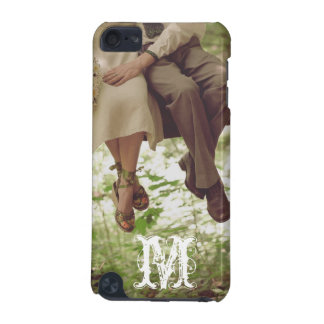 Vintage Romance Love Monogram Initial IPOD Touch iPod Touch 5G Covers