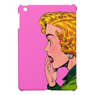 Vintage Romance Novel Girl Comic Art Cover For The iPad Mini