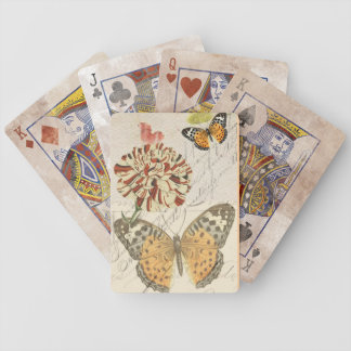 Vintage Romance Playing Cards