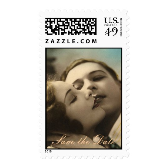 Vintage Romance Save the Date Stamps