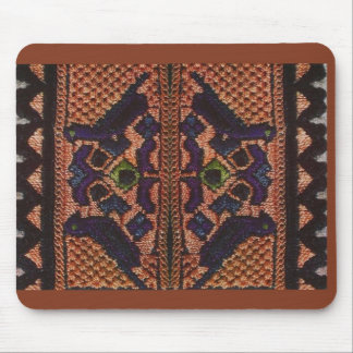 Vintage Romanian embroidery, wool, pattern Mousepads