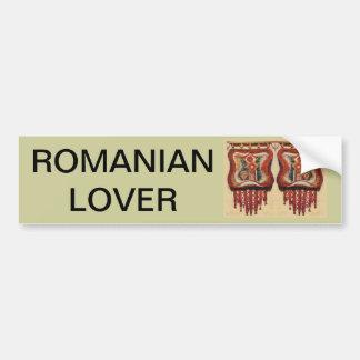 Vintage Romanian Needlework Bumper Sticker