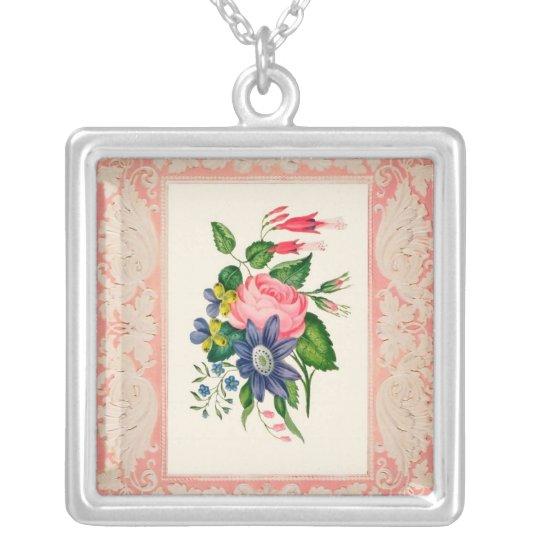 Vintage Romanic Rose Necklace