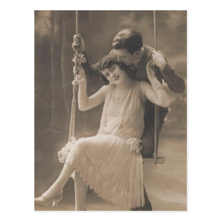 Vintage Romantic Couples Cards and Gifts - Flapper