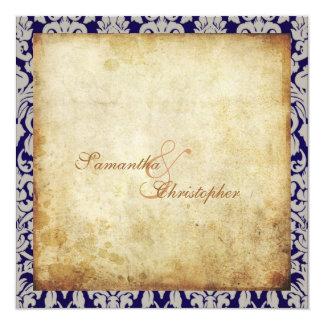 Vintage + Romantic Damask Custom request Card