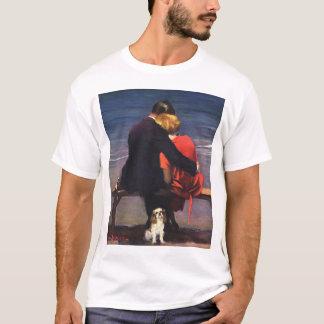 Vintage Romantic Love, Romance on the Beach T-Shirt