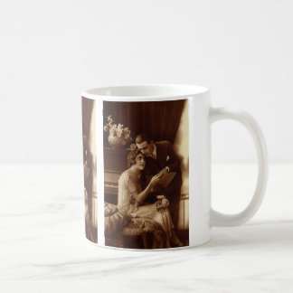 Vintage Romantic Music, Love and Romance Lovers Coffee Mug