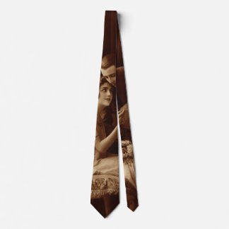 Vintage Romantic Music, Love and Romance Lovers Neck Tie