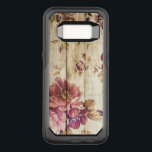 "Vintage Romantic Roses on Wood OtterBox Commuter Samsung Galaxy S8 Case<br><div class=""desc"">Vintage Romantic Roses on Wooden Wall OtterBox iPhone Case.</div>"