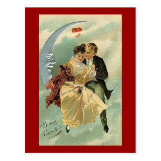 Vintage Romantic Valentine (3) Postcard