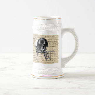 Vintage Romany Gypsy wagon Beer Stein
