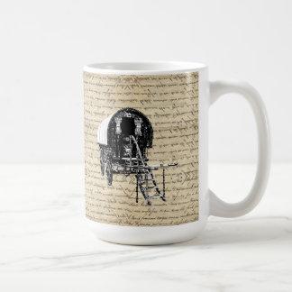 Vintage romany gypsy wagon coffee mug
