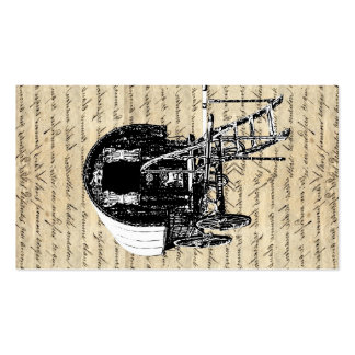 Vintage Romany Gypsy wagon Double-Sided Standard Business Cards (Pack Of 100)