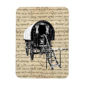 Vintage Romany Gypsy wagon Magnet