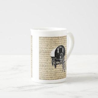 Vintage Romany Gypsy wagon Tea Cup